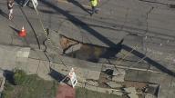 Crews Work to Repair Water Main Break in Oakland