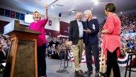 Clinton, Kaine Hold Post-DNC Rally, Start Bus Tour