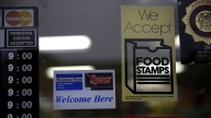 About 2 months worth of food stamps for 45 million people