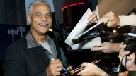 Ron Glass at the 'Serenity' Premiere, 2005, Los Angeles.