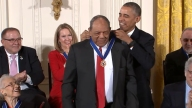 Willie Mays Receives Medal of Freedom