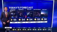 Weekend Freeze; Showers Ahead