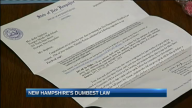 Students Find New Hampshire's 'Dumbest Law'