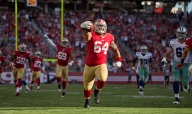 Niners' Purcell Filling a Valuable Role When Needed