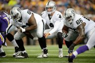 Early Summer Reviews Are Solid On Raiders' Offensive Line