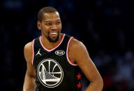 Warriors' Kevin Durant Named NBA All-Star Game MVP