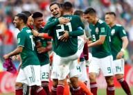 APTOPIX Russia Soccer WCup Germany Mexico