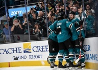 Sharks Top Flames For Second Straight Win