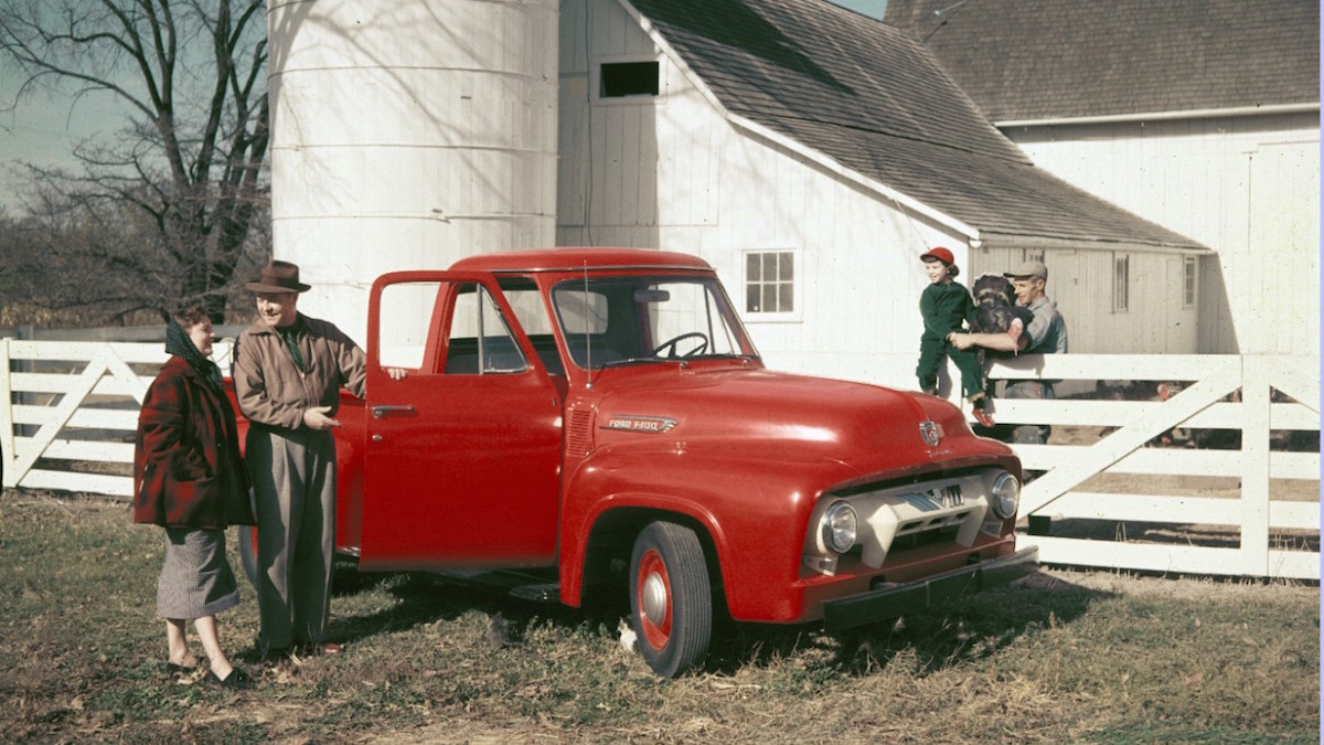 Ford Trucks Celebrate 100th Anniversary