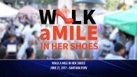 International Walk a Mile in Her Shoes to End Violence Against Women