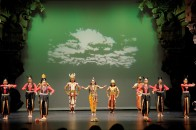 Traditional Indian Dance Portrays the Many Lives of Buddha