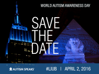 Autism Speaks and Calls for Action to Light It Up Blue