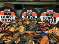 Annual Junior Giants Glove Drive at Oracle Park