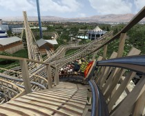 New Roller Coaster at Great America is all Wood