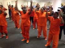 Sheriff Plans Valentine's Day Flash Dance... In Jail