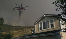 Crews Battle 'Almost Unprecedented' SoCal Wildfire