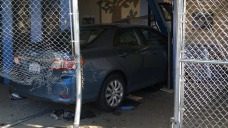 Suspect Carjacks Vehicle, Intentionally Drives Into School