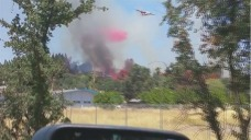 Crews Battling 2 Fires in Clearlake, Evacuations Lifted
