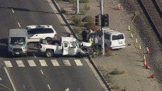 Teen Killed, 5 Five Hurt in Grisly South Bay Crash