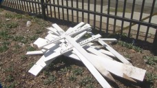 San Jose Church Removes Crosses for Homicide Victims