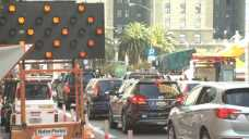 Black Friday Shoppers Met with Heavy Traffic in SF