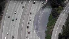 Flooding Closes Lanes of SB I-280, Hwy. 87 Connector in SJ