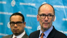 New DNC Chief Faces a Divided Party, Plus Trump