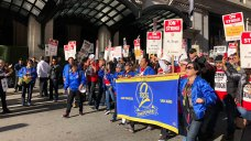 Marriott Workers Continue Weeks of Strike in Bay Area