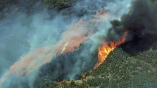Brush Fire Scorches 320 Acres in Hills East of Milpitas
