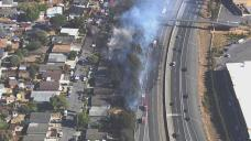 Petaluma Fire Damages 14 Homes, Forces Evacuations