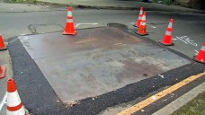 Sinkhole on Oakland Side Leads to Closure of Posey Tube
