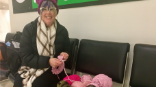 Pink Cat Hats Arrive in D.C. For Anti-Trump Protest