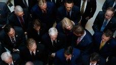 Chaotic Scene as Republicans Disrupt Impeachment Deposition