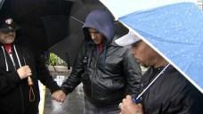 Pastors Brave Rain, Continue Daily Prayer for Fire Victims