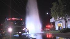 Driver Smashes into Hydrant, Lands Car Inside Pizza Parlor