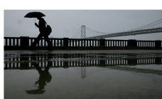 Scattered Showers, Breezy Conditions Return to the Bay Area