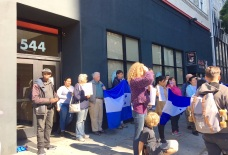 Hondurans Rally Outside Guatemalan Consulate in SF