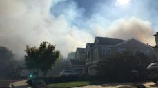 Firefighters Battle Vegetation Blaze in San Ramon