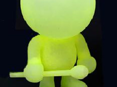 Glow-In-the-Dark Blow Up Doll