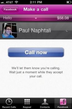 Jajah Offers Free Calls Through Facebook