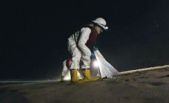 SoCal Beaches Remain Closed, Tar Ball Cleanup Continues
