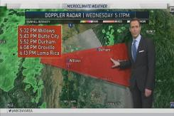 Jeff's Forecast: Heavier Rain Thursday