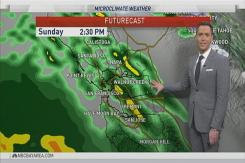 Jeff's Forecast: Rain Lingers This Weekend