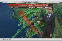 Jeff's Forecast: Rain Lingers Tuesday
