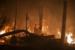 Wildfires Continue to Devastate Sonoma County