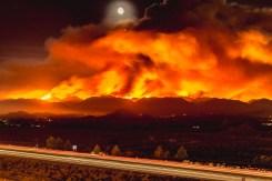 Brush Fire Burns Homes in Santa Clarita