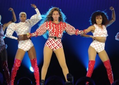 Levi's Stadium Turns Into 'Beyhive'