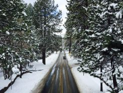 Weekend Storm Turns Tahoe Into Winter Wonderland