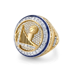 Warriors Unveil 2017 Championship Rings