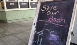 Bacon Restaurant Saved